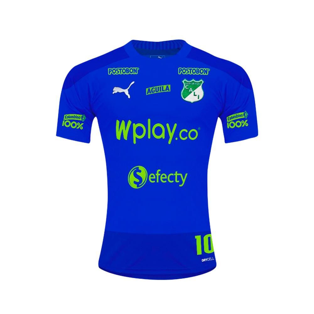 Camiseta De Entrenamiento Deportivo Cali 2020 Azul Miro Deportes