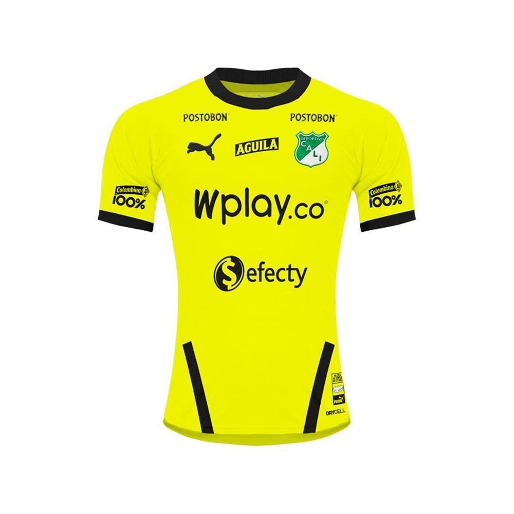 Camiseta De Arquero Deportivo Cali 2020 Amarillo Miro Deportes